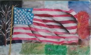 Artist: Angela Huang, 7th grade Teacher: Fiona Weiss William Anni Middle School
